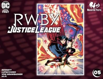 RWBY - Justice League 005 (2021) (digital