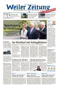 Weiler Zeitung - 18. April 2019