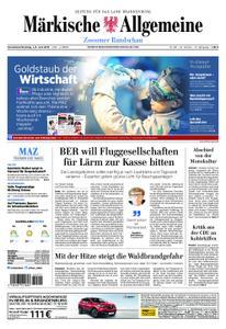 Märkische Allgemeine Zossener Rundschau - 01. Juni 2019
