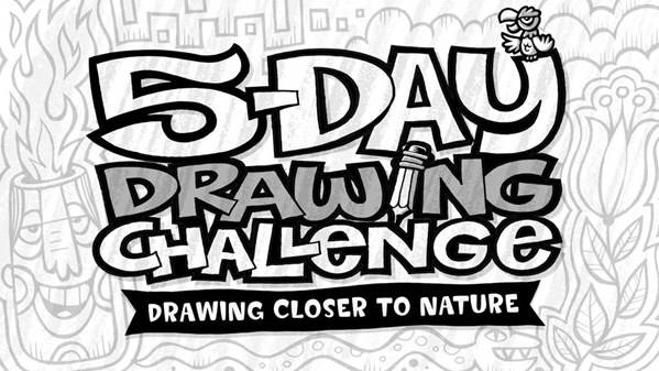 5-Day Drawing Challenge: Drawing Closer to Nature [repost]
