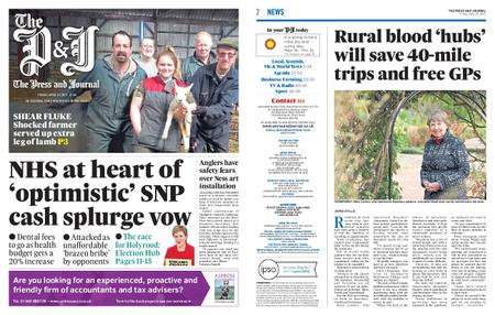 The Press and Journal Moray – April 16, 2021