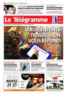 Le Télégramme Landerneau - Lesneven – 14 mars 2020