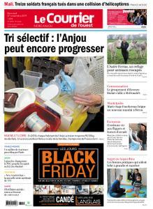 Le Courrier de l'Ouest Nord Anjou – 27 novembre 2019