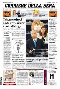 Corriere della Sera – 12 settembre 2018