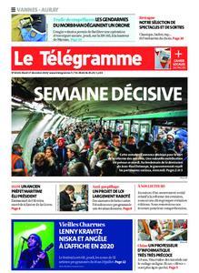 Le Télégramme Auray – 17 décembre 2019