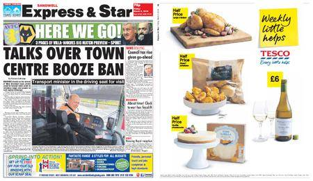 Express and Star Sandwell Edition – March 09, 2018