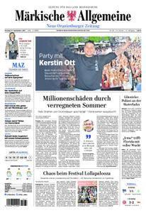 Neue Oranienburger Zeitung - 11. September 2017