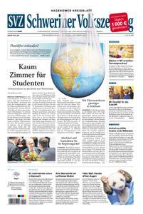 Schweriner Volkszeitung Hagenower Kreisblatt - 19. Oktober 2019