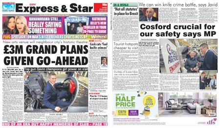 Express and Star City Edition – March 09, 2019