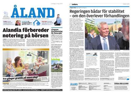 Ålandstidningen – 11 maj 2019