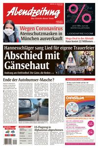 Abendzeitung München - 28 Januar 2020