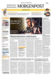 Solinger Morgenpost – 25. Januar 2019