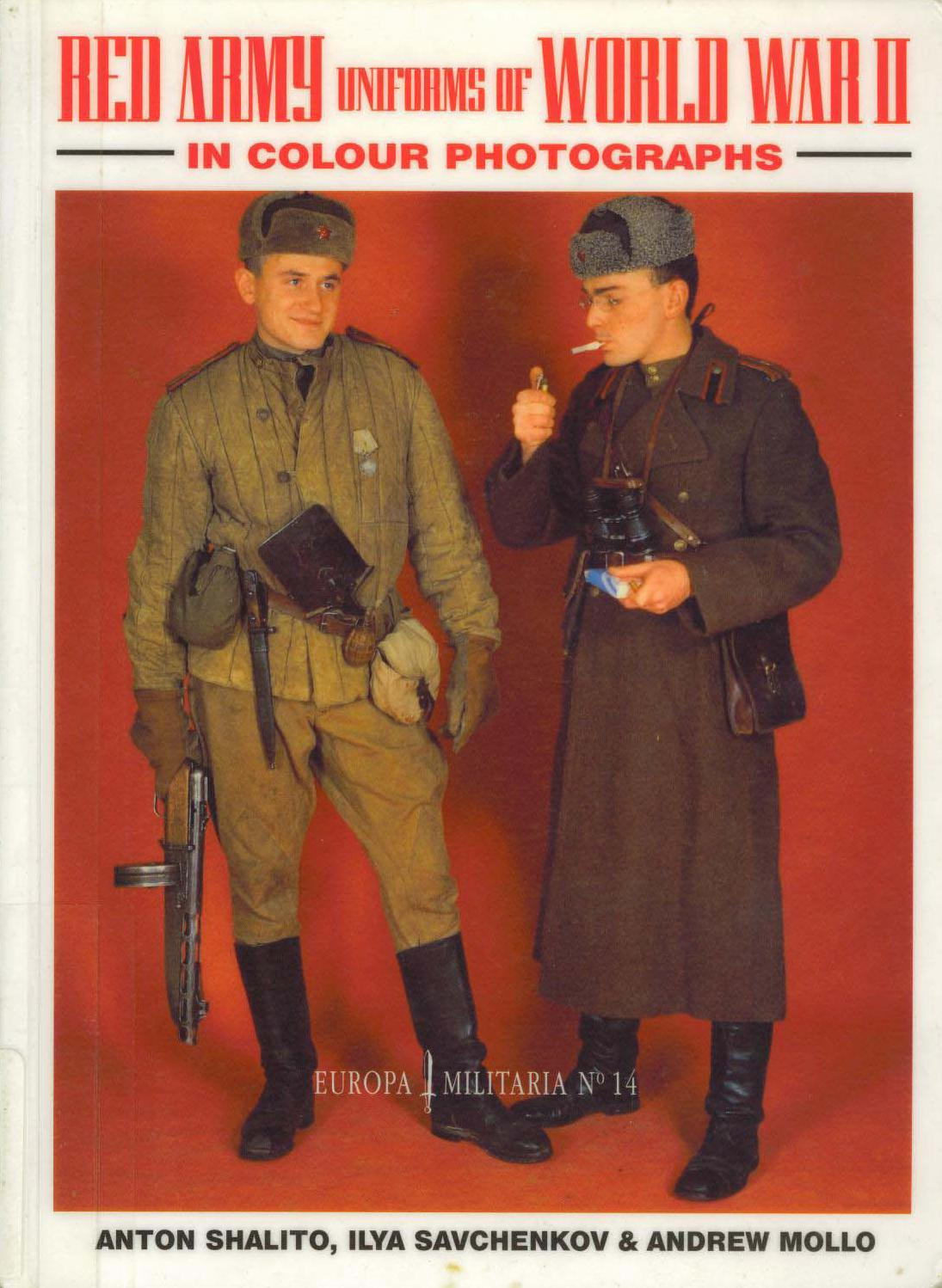 Europa Militaria #14 ''Red  Army Uniforms of World War 2''
