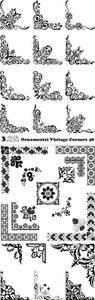 Vectors - Ornamental Vintage Corners 48