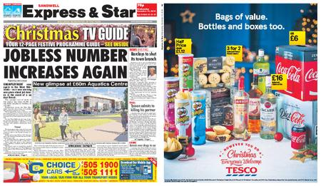 Express and Star Sandwell Edition – December 12, 2018