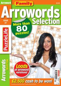 Family Arrowords Selection - Issue 27 - May 2020