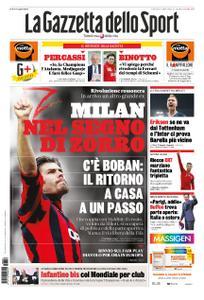 La Gazzetta dello Sport Roma – 06 giugno 2019