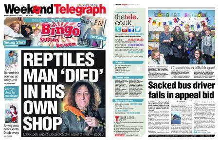 Evening Telegraph First Edition – November 11, 2017