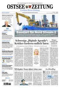 Ostsee Zeitung Wolgast - 16. Mai 2018