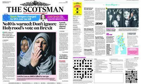 The Scotsman – May 16, 2018
