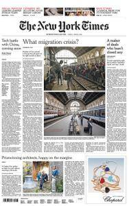 International New York Times - 29 June 2018