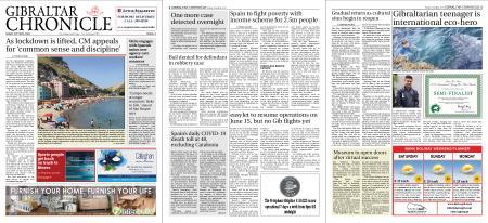 Gibraltar Chronicle – 22 May 2020