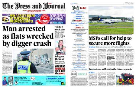 The Press and Journal Moray – February 19, 2018