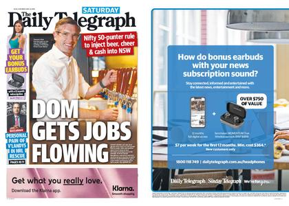 The Daily Telegraph (Sydney) – May 23, 2020