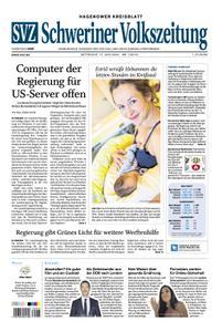 Schweriner Volkszeitung Hagenower Kreisblatt - 17. Juni 2020