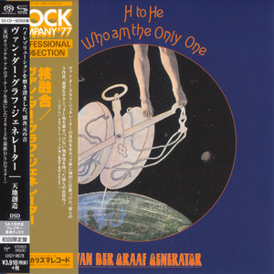 Van Der Graaf Generator - H To He, Who Am The Only One (1970) [Japanese Limited SHM-SACD 2015] PS3 ISO + Hi-Res FLAC