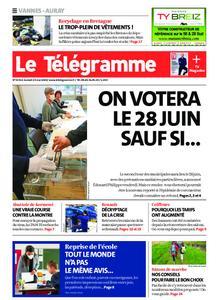 Le Télégramme Auray – 23 mai 2020