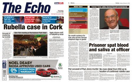 Evening Echo – February 25, 2020