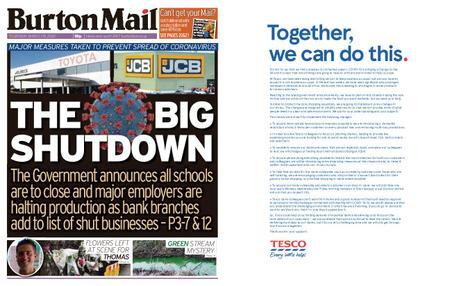 Burton Mail – March 19, 2020