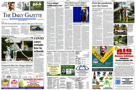 The Daily Gazette – September 18, 2020