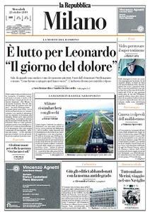 la Repubblica Milano - 23 Ottobre 2019