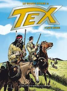 Le Grandi Storie di Tex 38 - I Lupi Rossi (2016)