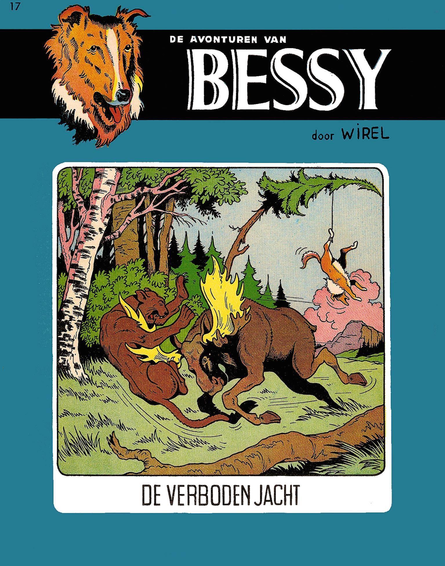 Bessy - 017 - De Verboden Jacht 1957 cbr