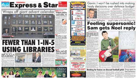 Express and Star Sandwell Edition – December 05, 2017