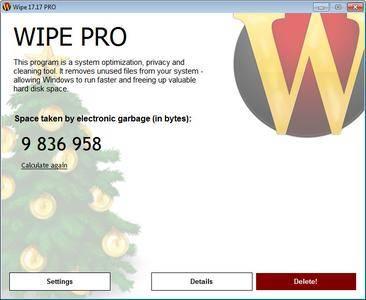 Wipe Pro 17.33 Multilingual