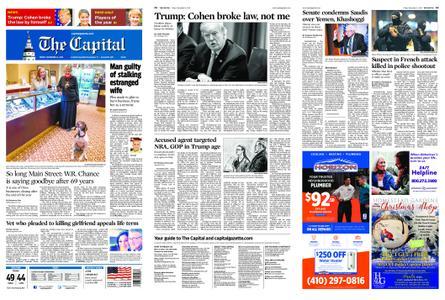 The Capital – December 14, 2018