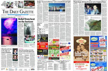 The Daily Gazette – July 05, 2018