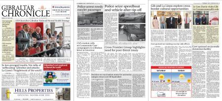 Gibraltar Chronicle – 30 July 2021