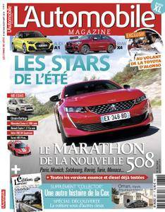 L'Automobile Magazine - août 2018