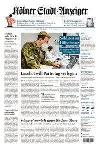 Kölner Stadt-Anzeiger Rhein-Erft-Kreis/Bornheim – 26. Oktober 2020