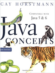 Java Concepts for Java 5 and 6 (Repost)
