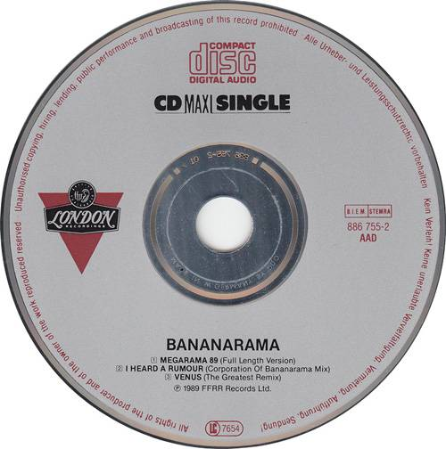 Bananarama - Megarama '89 (German CD5) (1989) {ffrr/London}