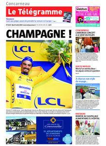 Le Télégramme Concarneau – 09 juillet 2019