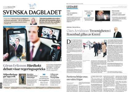 Svenska Dagbladet – 18 januari 2018