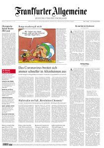Frankfurter Allgemeine Zeitung - 25 März 2020