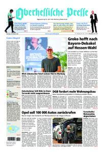 Oberhessische Presse Marburg/Ostkreis - 16. Oktober 2018
